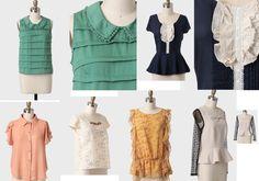 ideias blusinhas