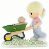 Precious Moments John Deere:  Thanks For Being There $56.00