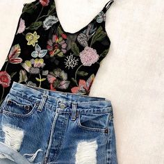 ITS BACK! We promised it'd get here for Coachella and we are super stoked to let you know they are shipping today!   Link in bio to snag the Festival Floral Bodysuit!    #Regram via @shop12thtribe