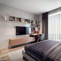 Bedroom_2 on Behance