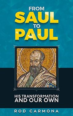 From Saul to Paul: His transformation and our own You know that Paul is an influential leader of the faith, but do you know what his story tells us about ours? If you like close adherence to biblical scripture, compelling storytelling, and straightforward text that reveals and elevates, then you'll love this companion reader series by Rod Carmona. Tap the link to buy the book today!