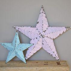 Barn Star  XL, Rose pâle  www.lereperedesbelettes.com
