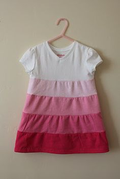 Tiered Toddler Dress