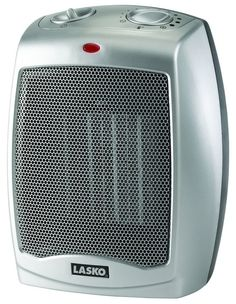 Lasko Ceramic Compact Personal Electric Space Heater at Lowe's. The Lasko 754200 Ceramic Heater with Adjustable Thermostat is perfect for those chilly days in your home or at the office. Its smaller size provides
