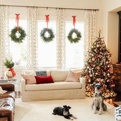 Today I'm back to share a tour of my Christmas Living Room as a part of Marty's annual Christmas Home Tour! Christmas Wreaths For Windows, Christmas Window Decorations, Christmas Themes, Christmas 2019, Christmas Holidays, Celebrating Christmas, Christmas Fireplace, Outdoor Decorations, White Christmas