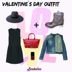 Recomendación de outfit para el día de San Valentín con nuestras Boots Camp Leather.