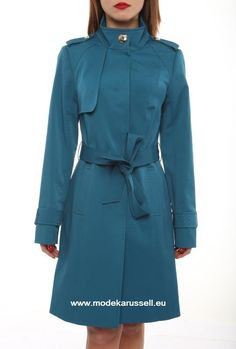 Trench Coat Heidrun Blau