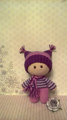 Пупсик йо-йо Doll Patterns Free, Amigurumi Patterns, Amigurumi Doll, Knitted Dolls, Crochet Dolls, Crochet Doll Pattern, Crochet Patterns, Crotchet Animals, Sampler Quilts