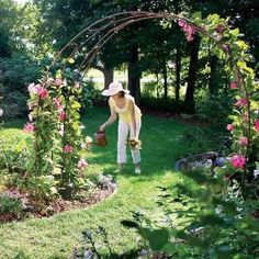 Build a Garden Archway out of rebar, $30 project