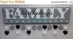 Birthday Board Birthday Board Gift Ideas Family by SignChik