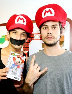 Tyler Posey & Dylan O'Brien at Comic Con 2015 #SDCC