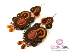 Soutache Earrings Badak Merah - will add glamour to any outfit. Ideal for…
