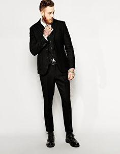 Tweed Groom's 3 Piece Suit