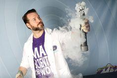 Tijdens Weekend van de Wetenschap geven de 'gekke professors' van Mad Science in Museum De Cruquius een toffe show met vuur en ijs voor kids vanaf 6 jaar.