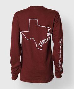 long sleeve texas a&m tshirt