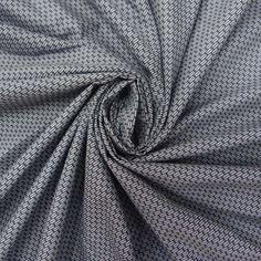 Gray Cotton Poplin Fabric Abstract print 42 Width by Soimoi FBC3821