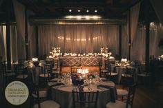 Beautiful wedding reception at The Cotton Room in Durham, NC #TriangleWeddings