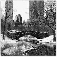 Trademark Fine Art Gapstow Bridge Central Park Canvas Art by Philippe Hugonnard, Size: 24 x 24, White