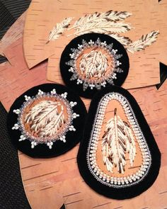 March goes out like a Lion with fantastic classes Native Beadwork, Native American Beadwork, Birch Bark Baskets, American Indian Crafts, Birch Bark Crafts, Seed Bead Art, Beadwork Designs, Quilling Jewelry, Nativity Crafts