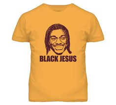 Black Jesus RG3 RGIII Robert Griffin The Third Washington T Shirt