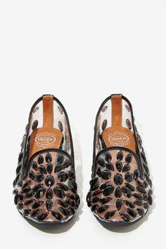Jeffrey Campbell Elegant Jeweled Loafers - Jeffrey Campbell