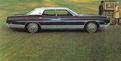 1971 Ford LTD Four Door Pillared Sedan