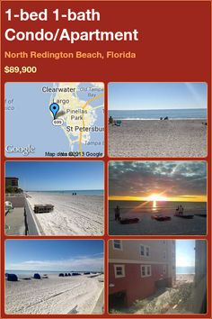 1-bed 1-bath Condo/Apartment in North Redington Beach, Florida ►$89,900 #PropertyForSale #RealEstate #Florida http://florida-magic.com/properties/7995-condo-apartment-for-sale-in-north-redington-beach-florida-with-1-bedroom-1-bathroom
