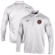 Men's Medium - Auburn Tigers Under Armour 2016 Special Event Fleece Performance Quarter-Zip Pullover Jacket - White
