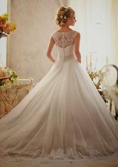 Dress: Mori Lee