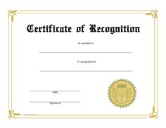 Free Printable Special Recognition Certificates - Baeti regarding Certificate Of Appreciation Template Free Printable - Best & Professional Templates Ideas Certificate Of Recognition Template, Free Printable Certificate Templates, Certificate Of Achievement Template, Award Certificates, Certificate Design, Recognition Awards, Employee Recognition, Google Docs, Microsoft Word