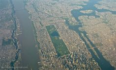 An Aerial View Of Central Park Photographic Print By Michael S ...