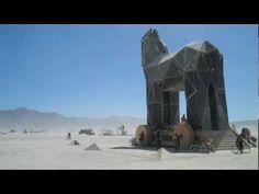 ▶ Burning Man 2011: Trojan Horse - YouTube
