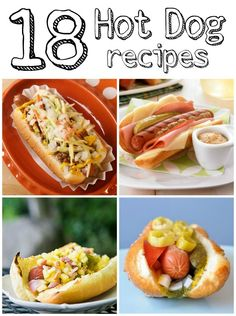 The Crafted Sparrow: 18 Hot Dog Recipes