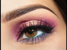 Kolorowy Makijaż Wakacyjny [Abundance of Colour - Summery Makeup Tutorial] Makeup Tutorials Youtube, Makeup Videos, Summer Looks, Make Up, Abundance, Face, Pretty, Colour, Beauty