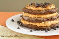 Mocha Pancakes. Pumpkin Cream. JIMP.