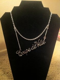 Cadillac Coupe de Ville emblem Necklace by keralayne on Etsy, $40.00