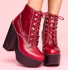 Until I can afford the Chloe boots, these Jeffery Campbell's will have to do...!