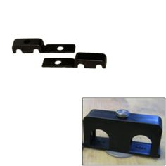 Weld Mount Double Poly Clamp f/1/4 x 20 Studs - 1/4 OD - Requires 0.75 Stud - Qty. 25