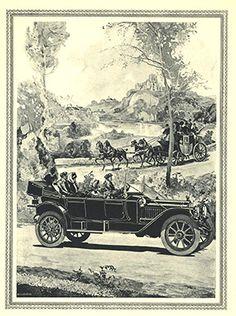 Old car brochures.
