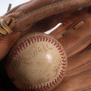 Removing mold from baseball glove