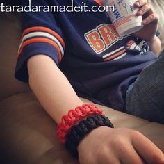 Paracord Bracelets for sale ... taradara's boy is an entrepreneur too!