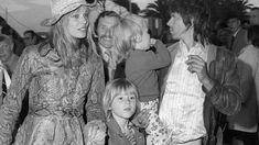 8x10 Print Keith Richards Anita Pallenberg The Rolling Stones #9866KR