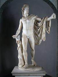 Vatican Museum: the Belvidere Apollo Roman Sculpture, Art Sculpture, Sculptures, Ancient Greek Sculpture, Ancient Art, History Of Modern Art, Art History, Art Masculin, Apollo Belvedere