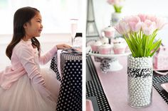 Designed with aspiring sophisticates in mind, this tiny soiree is pure Parisian chic. Set against a backdrop of classical black and pretty pink details,...