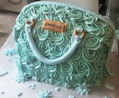 This is my own creation of a Jimmy Choo cake My friend asked me to make it for her daughter who had been brought a Jimmy Choo bag for her b. Cake Creations, Jimmy Choo, Cakes, Desserts, Food, Tailgate Desserts, Deserts, Cake Makers, Kuchen