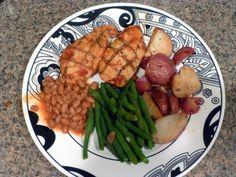 Diet to Go BBQ Chicken Meal - SUPER yummy! ...... <3Diet-to-Go<3 Love http://pinterest.com/diettogo/diet-to-go-love/  http://pinterest.com/diettogo/