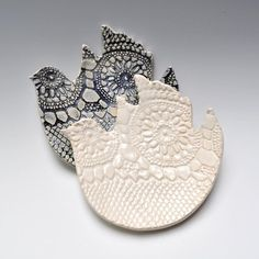 I like the complex texture vs. the simple idea of the dove