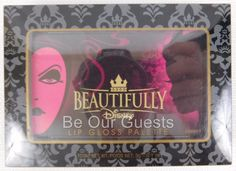 Beautifully Disney Villains Lip Gloss Palette New Sealed 6 Colors