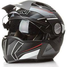 Givi Black X.01 Tourer Modular Dual Sport Helmet ($315)