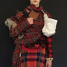 My Heritage, Loewe, Plaid Scarf, Scotland, Instagram Posts, Outfits, Fashion, Moda, Suits
